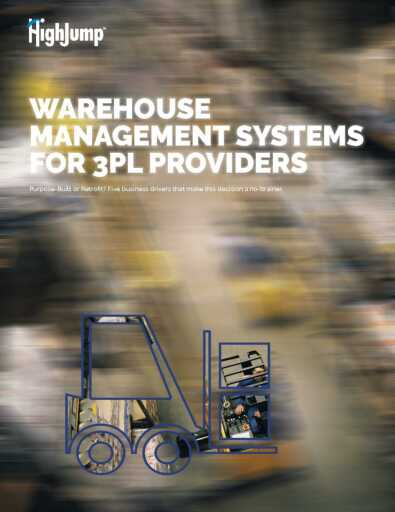 Warehouse Management Systems for 3PL Providers