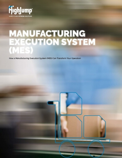 HighJump WMS Manufacturing Execution System (MES)