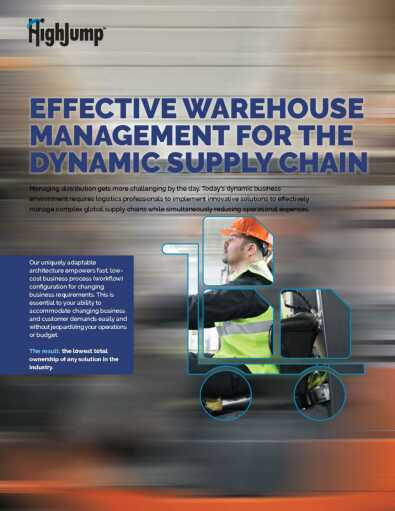 Warehouse Management System Software Solutions | WMS