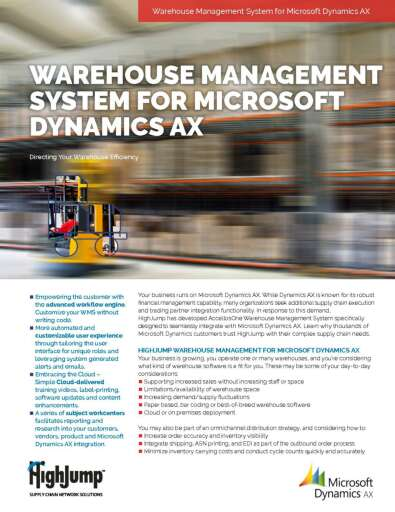Warehouse Management ERP Integrations