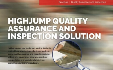 HighJump Quality Assurance and Inspection System