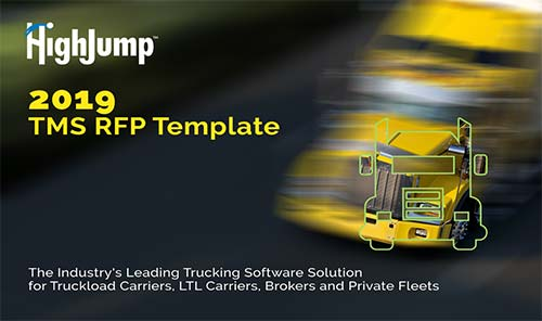 HighJump Transportation Management System Solutions (TMS)