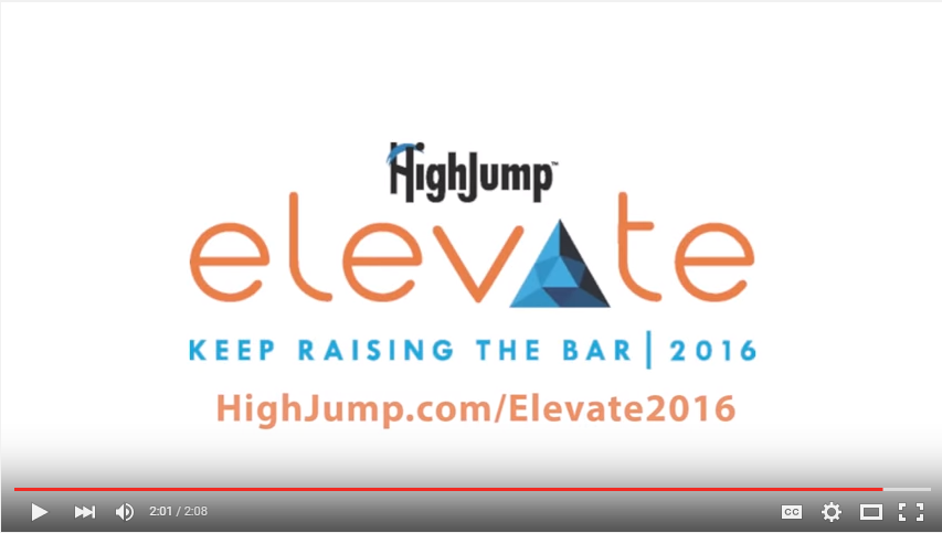 HighJump Elevate 2015 Conference